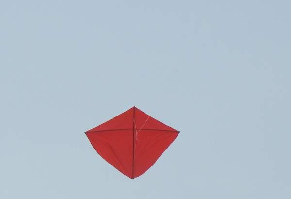 Uçurtma uçuyor