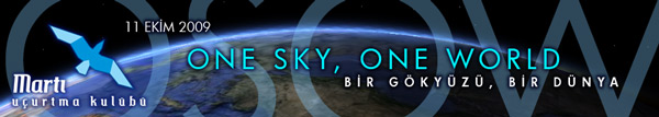 Osow: One sky, One world.