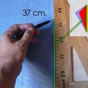 Keel - dümen ölçümü - dikey